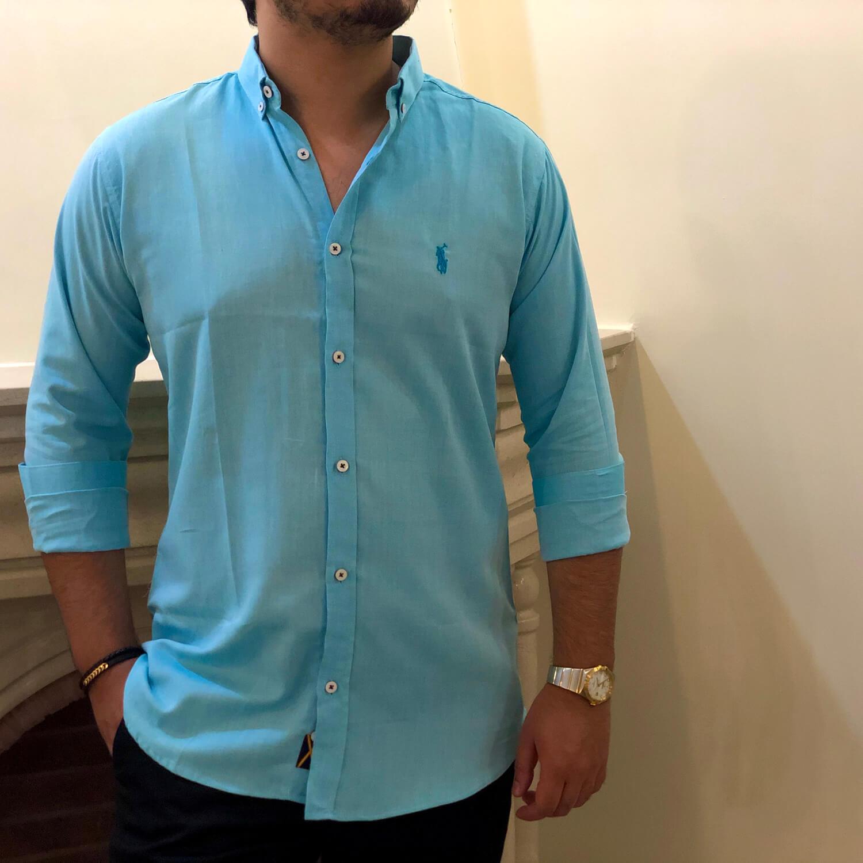 پیراهن مردانه طرح Polo کد 136
