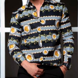 پیراهن مردانه طرح Versace کد 132