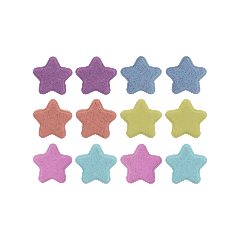 کوکتل پدیکور ژبن طرح ستاره بسته 12 عددی