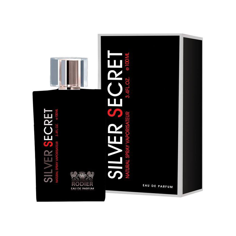 عطر مردانه رودیر مدل Silver Secret حجم 100 میلی لیتر