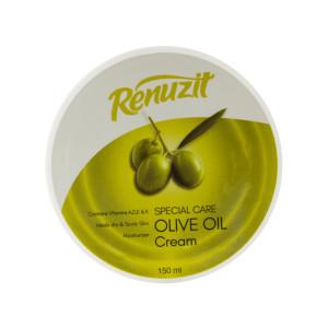 کرم مرطوب کننده رینوزیت مدل Olive Oil حجم 150 میلی لیتر