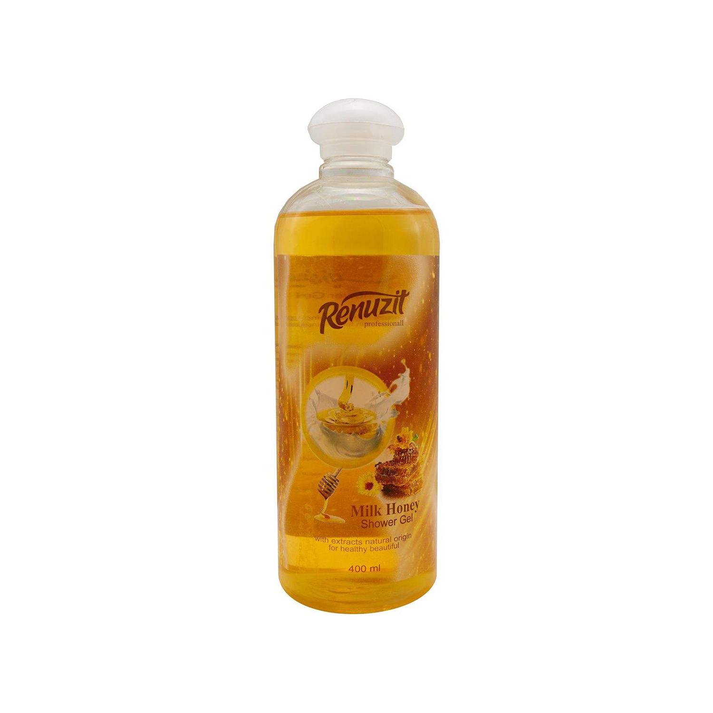 ژل شستشوی بدن رینوزیت مدل Milk Honey حجم 400 میلی لیتر