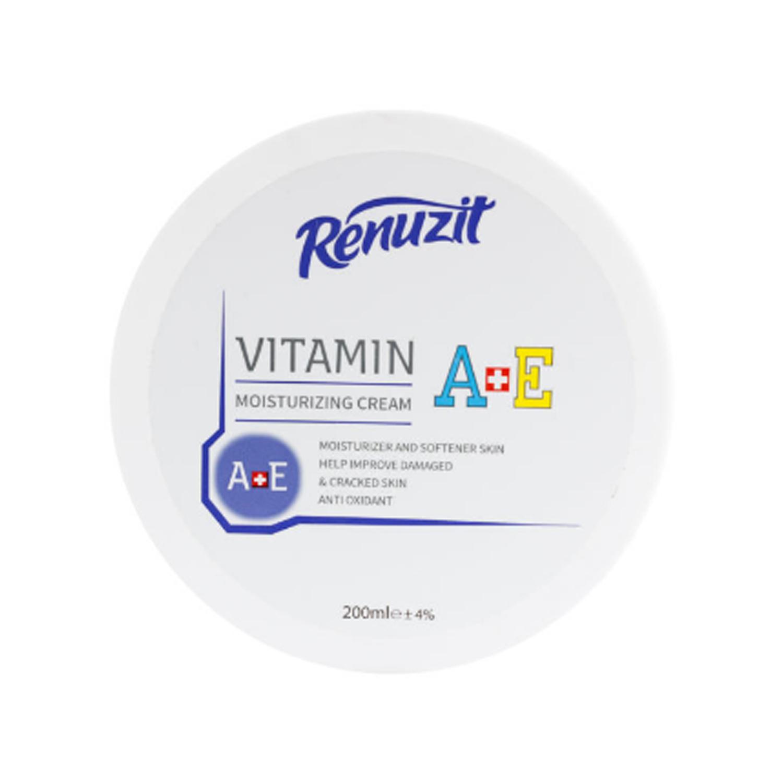 کرم نرم کننده رینوزیت مدل Vitamin A+E حجم 200 میلی لیتر