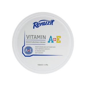 کرم نرم کننده رینوزیت مدل Vitamin A+E حجم 150 میلی لیتر
