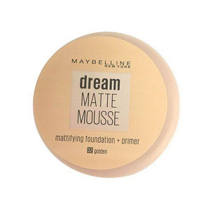موس میبلین مدل Dream Matte Mousse شماره Golden 32 حجم 18 میلی لیتر