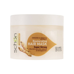 ماسک مو ترمیم کننده شون مدل Ginseng & Keratin حجم 300 میلی لیتر