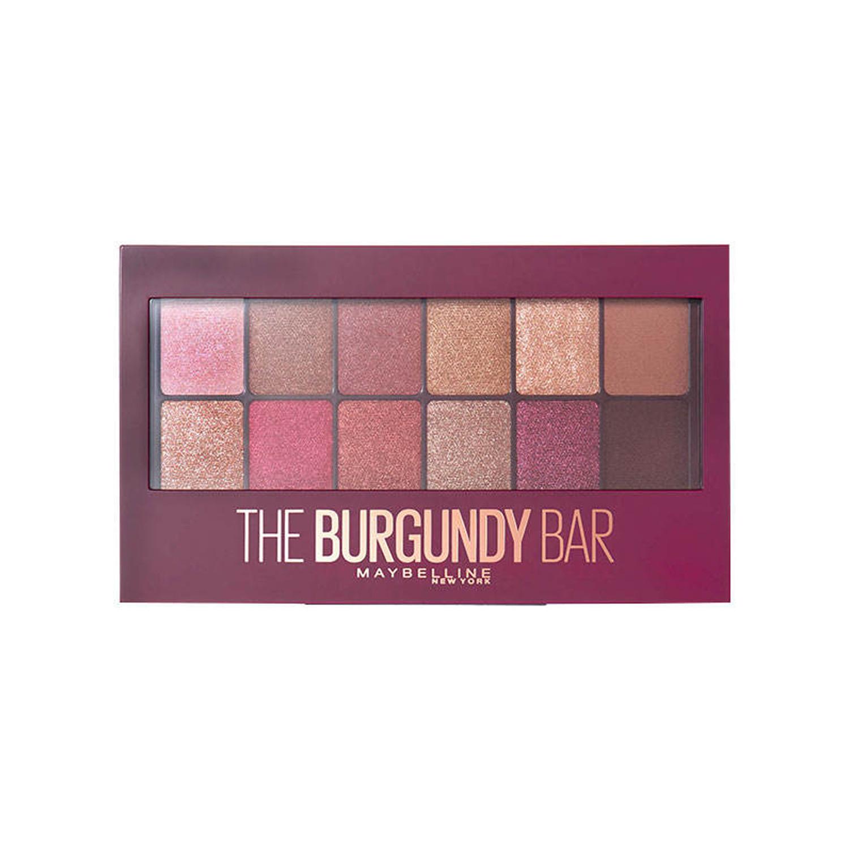 پالت سایه چشم میبلین مدل The Burgundy Bar