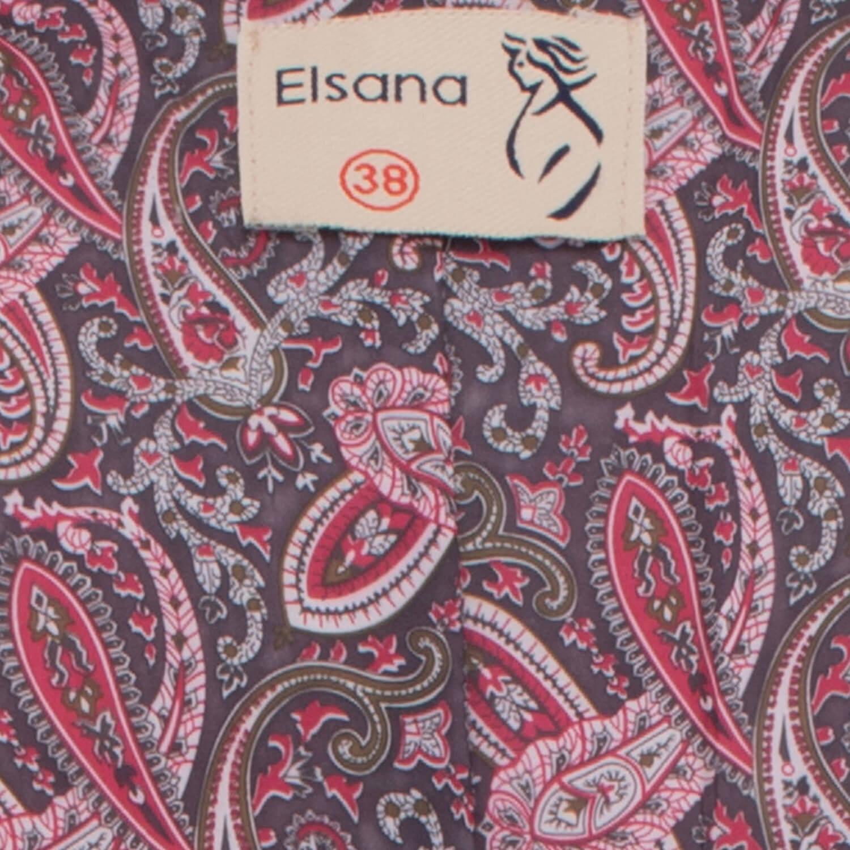 کاپشن کتان زنانه السانا مدل چشمه کد 75916