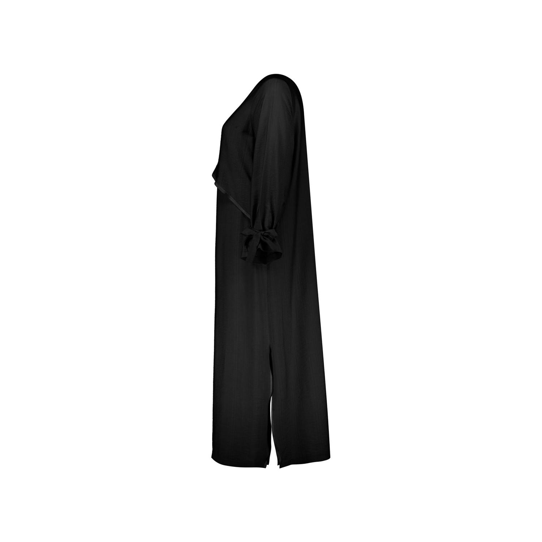 مانتو کرپ زنانه مانتو ولیعصر مدل تیارا کد 62501