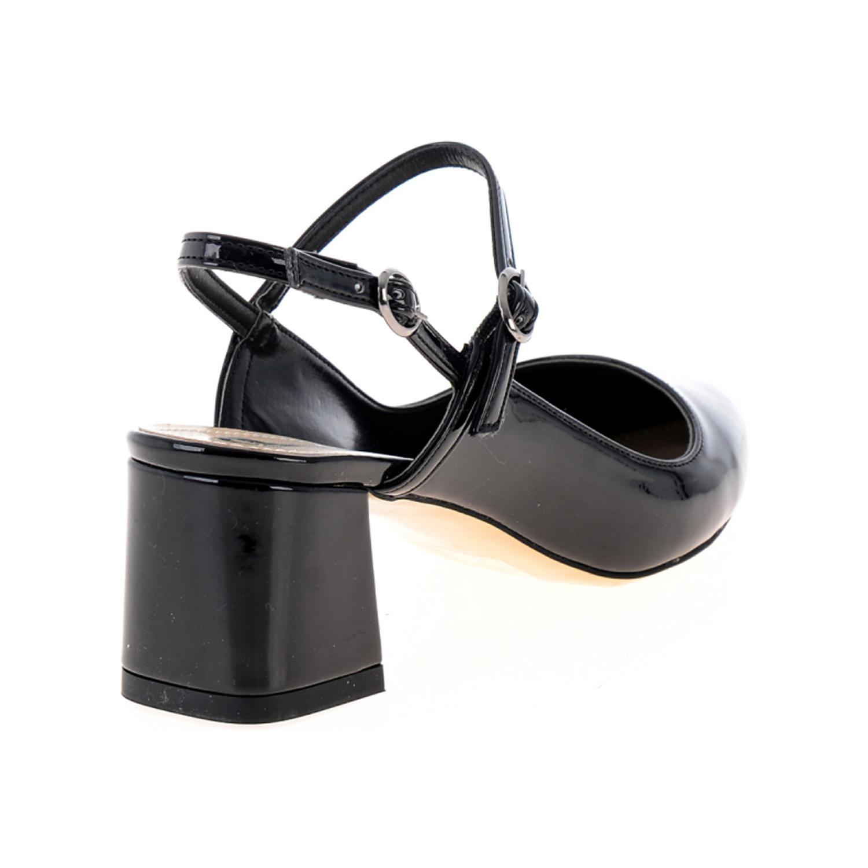 کفش ورنی پاشنه بلند زنانه بامبی مدل 298