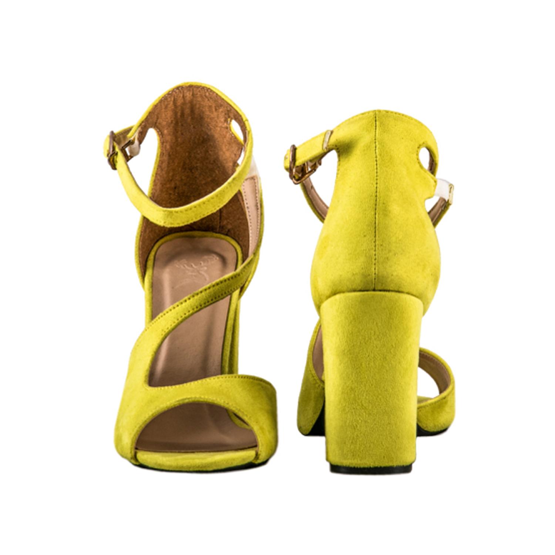 کفش جیر پاشنه بلند زنانه ویوو مدل 3119