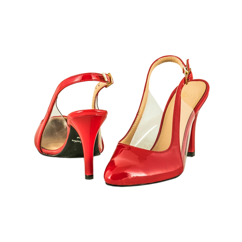 کفش ورنی پاشنه بلند زنانه ویوو مدل 3123