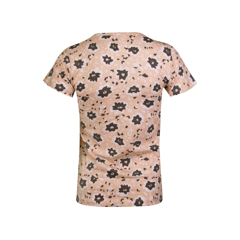 ست تی شرت و شلوار نخی دخترانه کوزا مدل 3578-1-GOL
