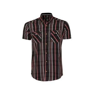 پیراهن پنبه ای مردانه ناوالس کد 20106-BK