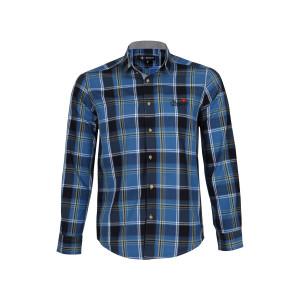 پیراهن پنبه ای مردانه ناوالس کد SFt-2091-BL