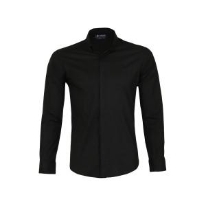 پیراهن پنبه ای مردانه ناوالس کد SlmFt-sh-BK