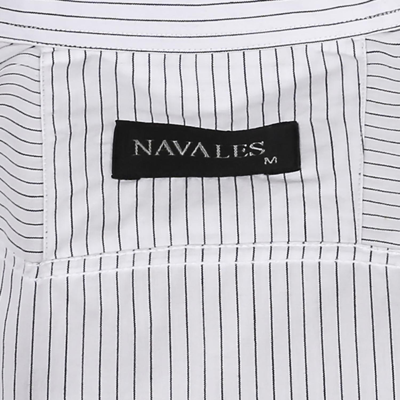 پیراهن پنبه ای مردانه ناوالس مدل Rara500-WH