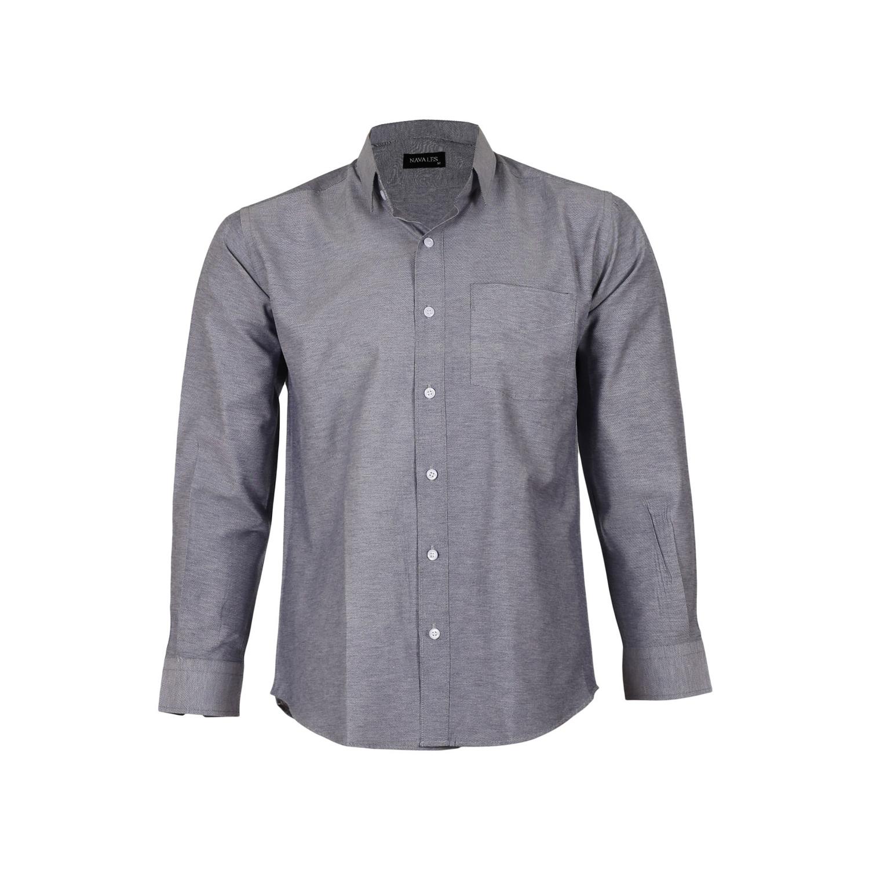 پیراهن پنبه ای مردانه ناوالس مدل NOx8020-GY