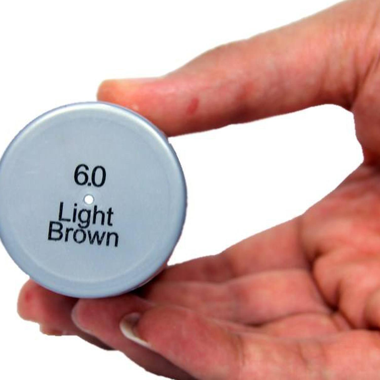 پودر پر پشت کننده مو دیسیپلین مدل Medium Brown وزن 25 گرم