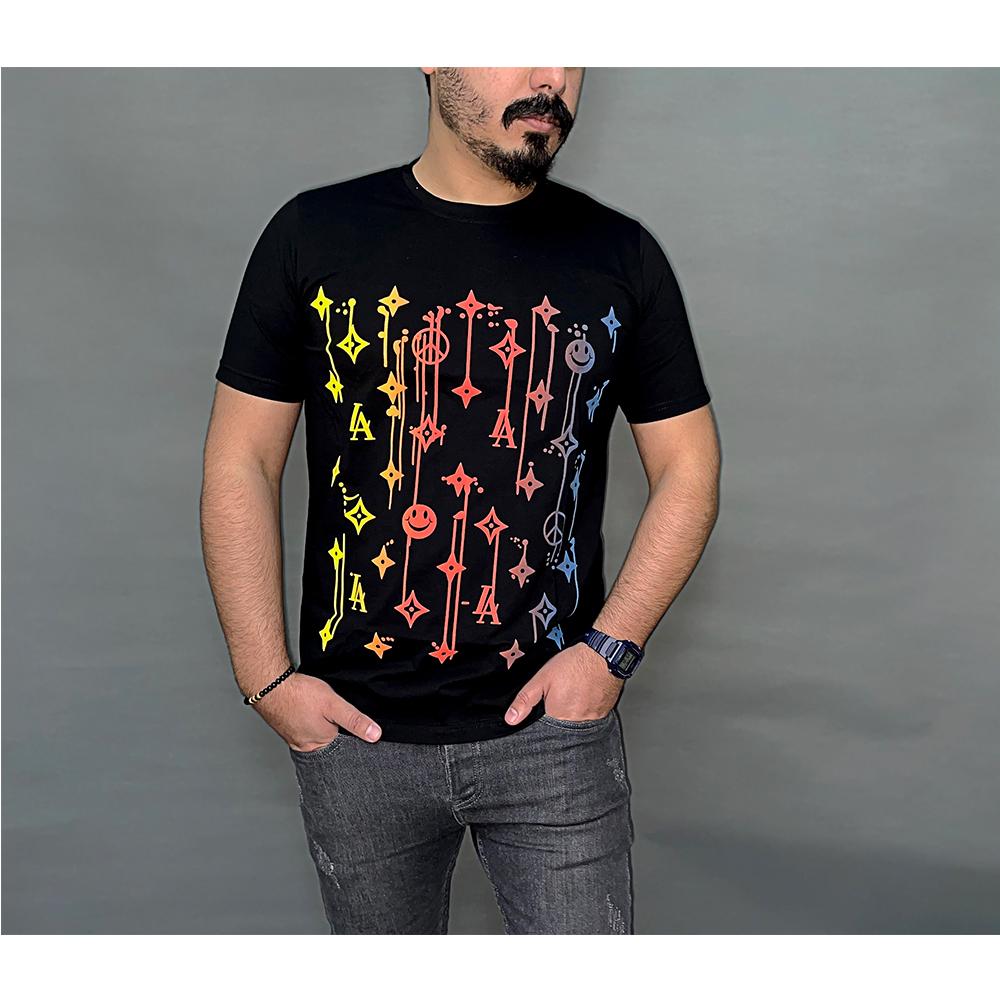 تی شرت نخی مردانه طرح Louis Vuitton کد 142