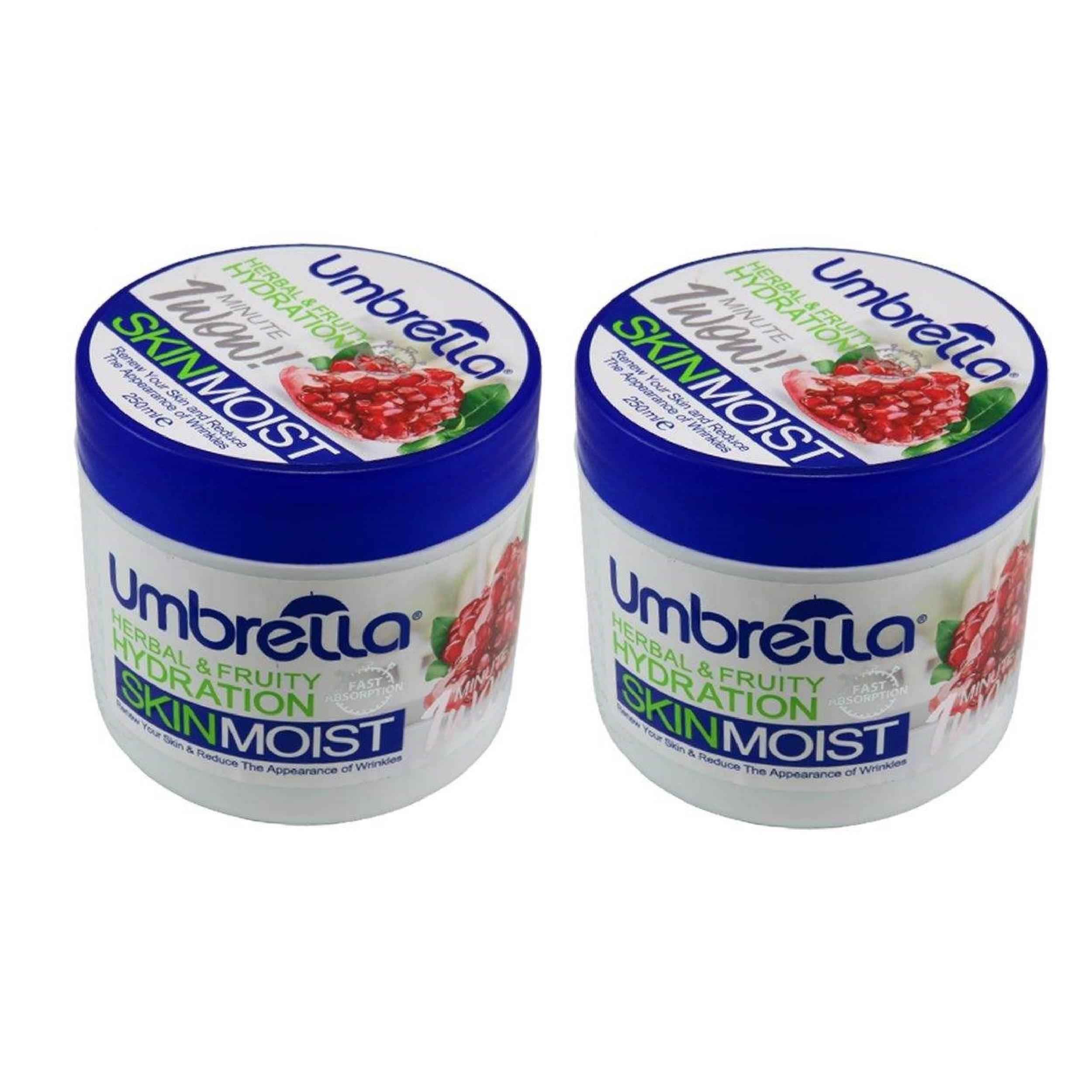 کرم مرطوب کننده آمبرلا مدل Pomegranate حجم 250 میلی لیتر مجموعه دو عددی