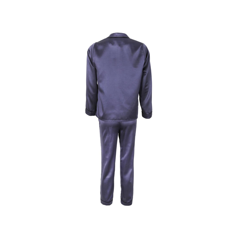 لباس خواب ساتن زنانه ناوالس کد SS2020-PJM105-NV