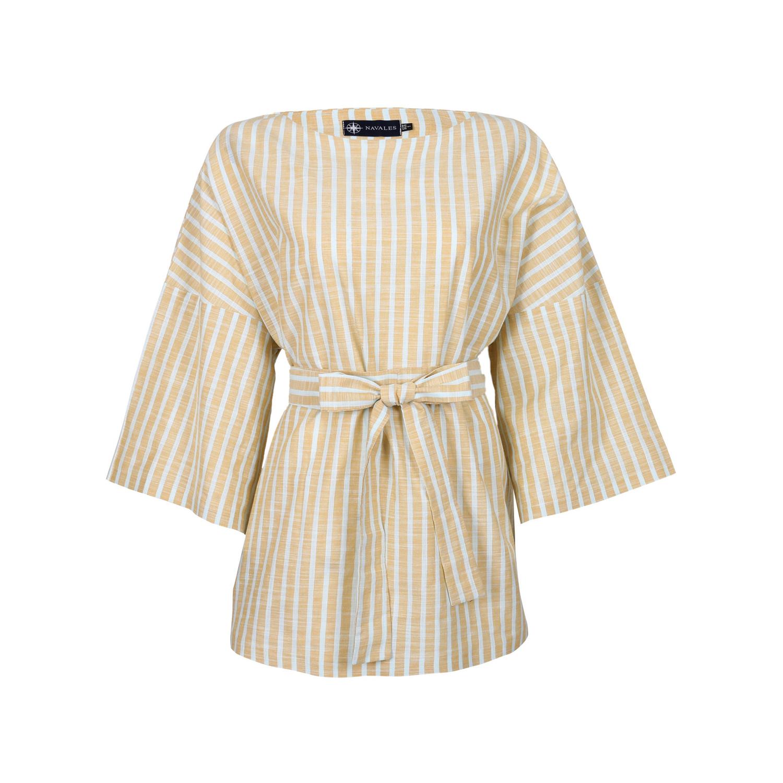 تونیک لینن زنانه ناوالس کد SS2020-shirt108-YL