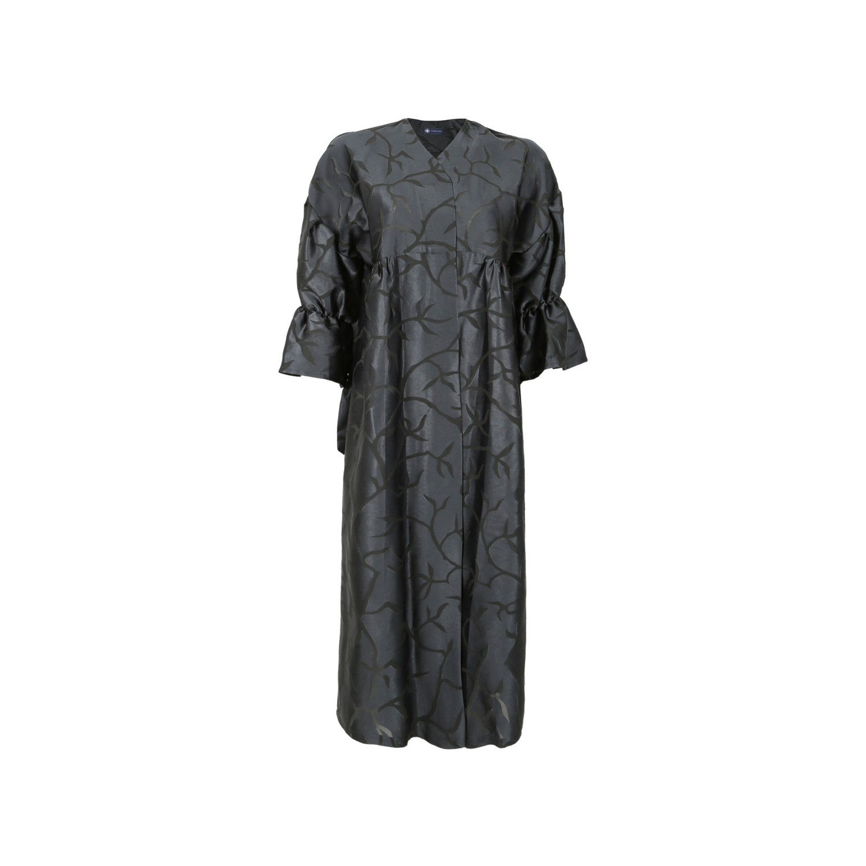 مانتو ساتن زنانه ناوالس کد SS2020-dress117