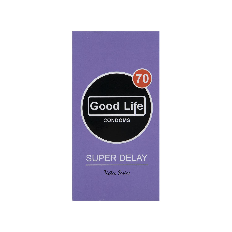 کاندوم گودلایف مدل Super Delay بسته 12 عددی
