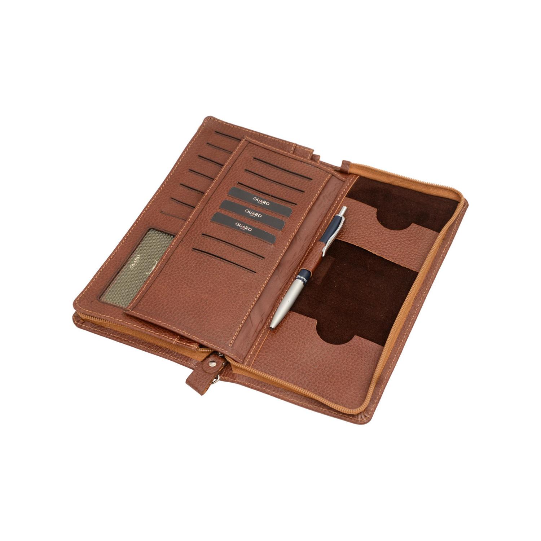 کیف دسته چک چرم گارد مدل FL 800004