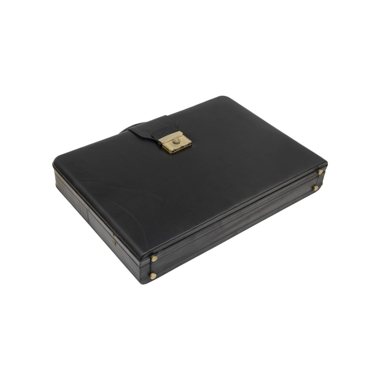 کیف اداری چرم مدل SDT 500020 - GR ML