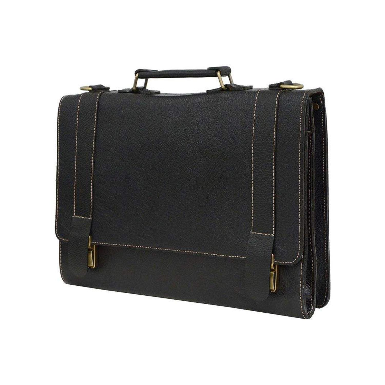 کیف اداری چرم مدل 003-100108 HJ FL