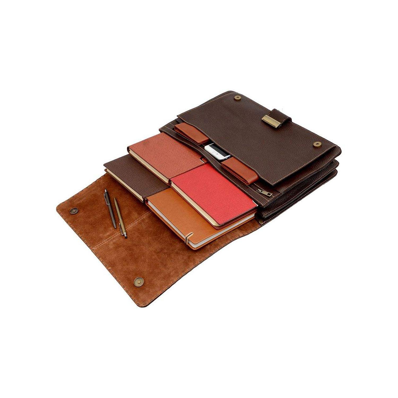 کیف اداری چرم کد 008-100108 HJ