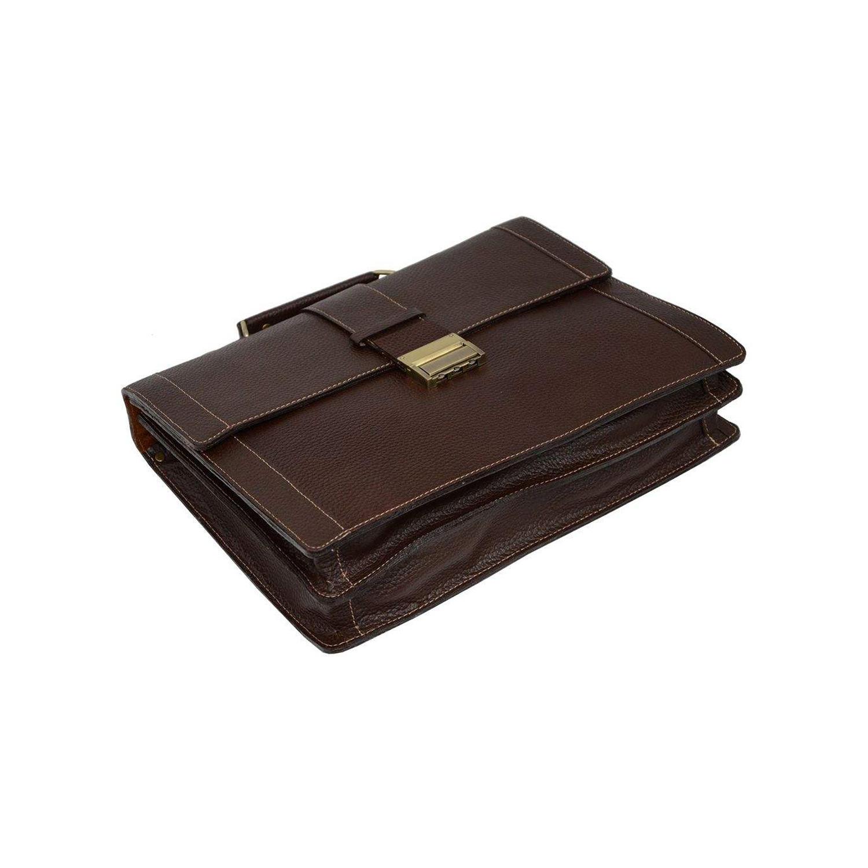 کیف اداری چرم مدل 005-100108 HJ FL