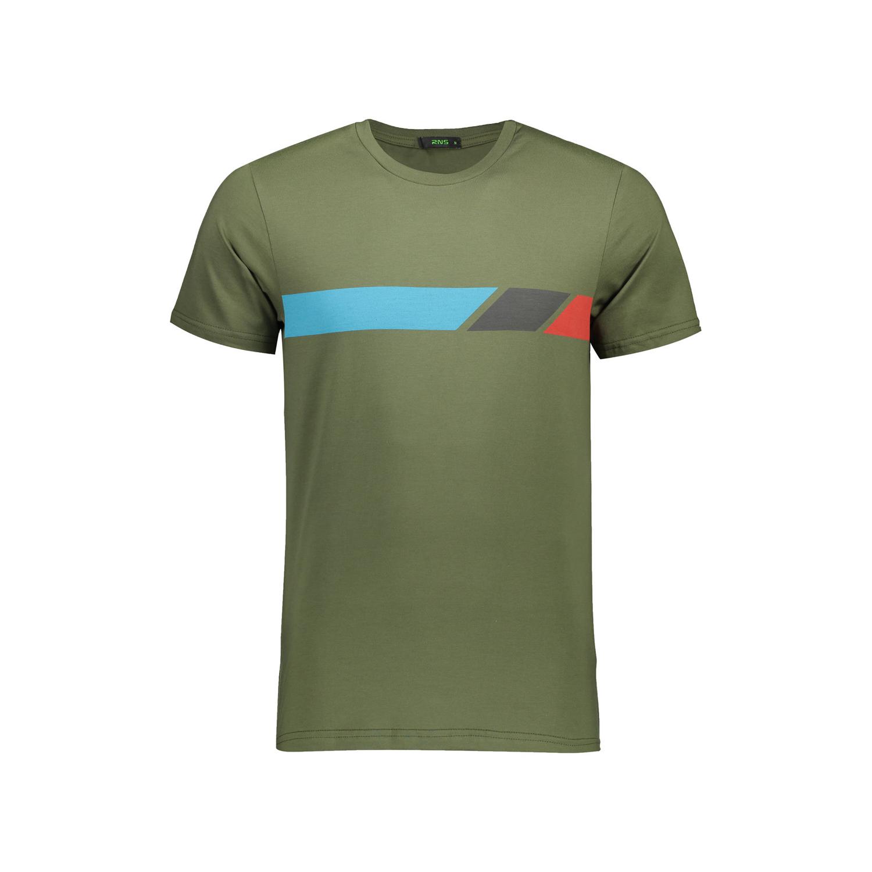 تی شرت نخی مردانه آر ان اس مدل 1131144-48