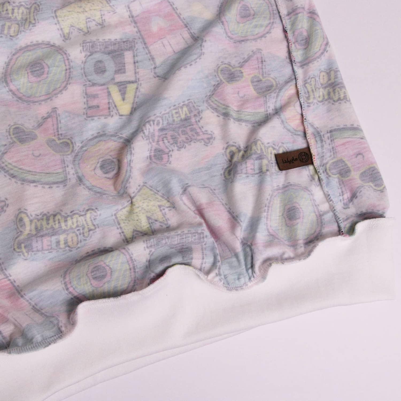 ست بلوز و شلوار نخی زنانه ماییلدا مدل 3587-5