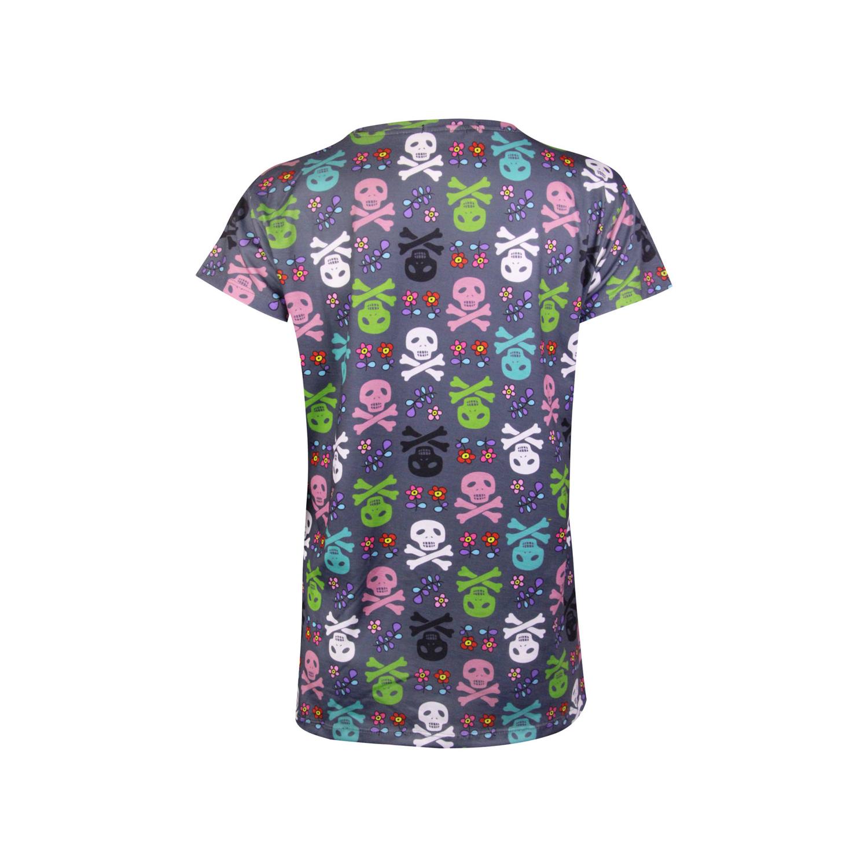 ست تی شرت و شلوارک نخی زنانه ماییلدا مدل 3586-8