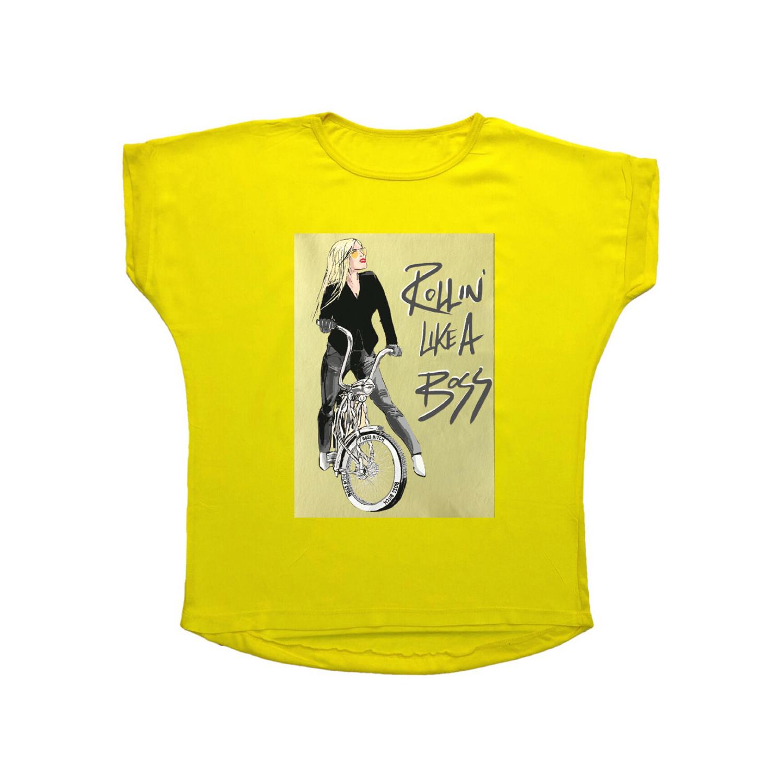 تی شرت نخی زنانه مدل 1009