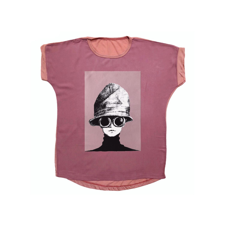 تی شرت نخی زنانه مدل 1010