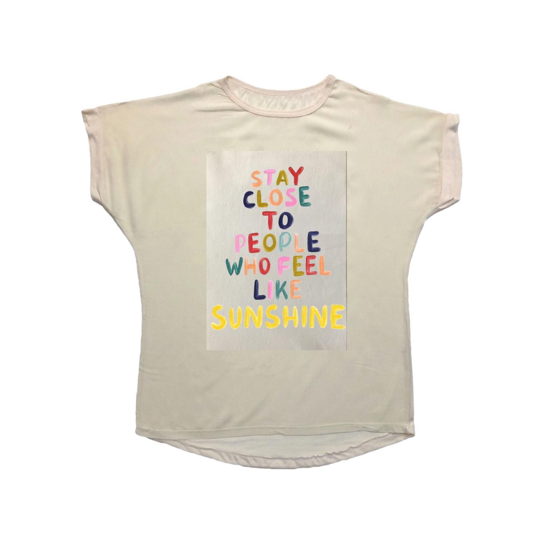 تی شرت نخی زنانه مدل 1003