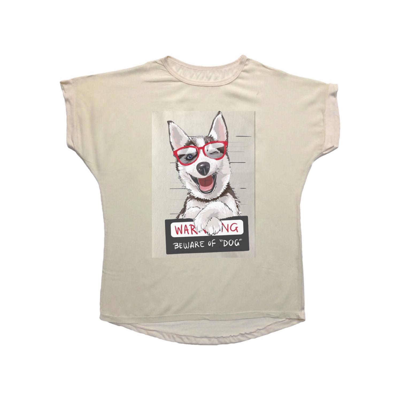 تی شرت نخی زنانه مدل 1015