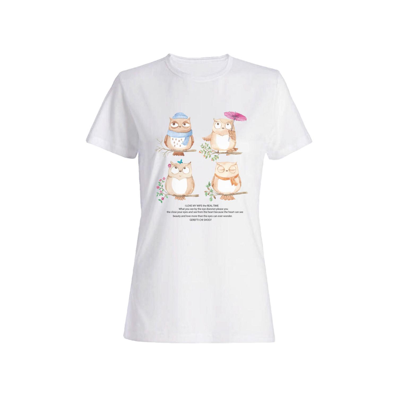 تی شرت نخی زنانه کد 013
