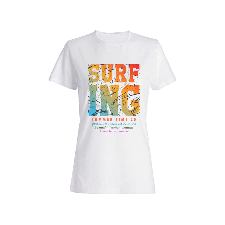 تی شرت نخی زنانه کد 011