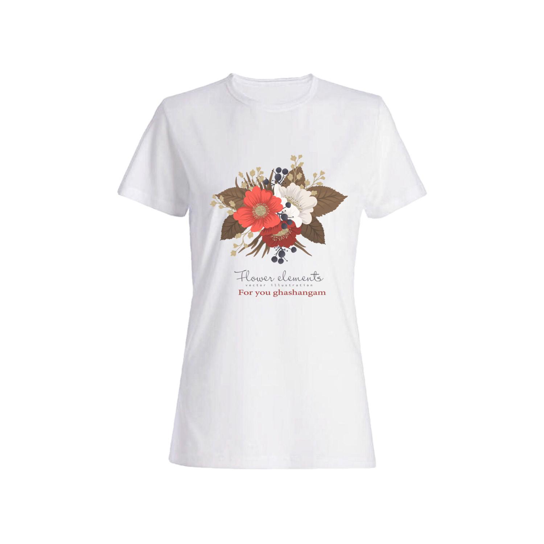تی شرت نخی زنانه کد 09