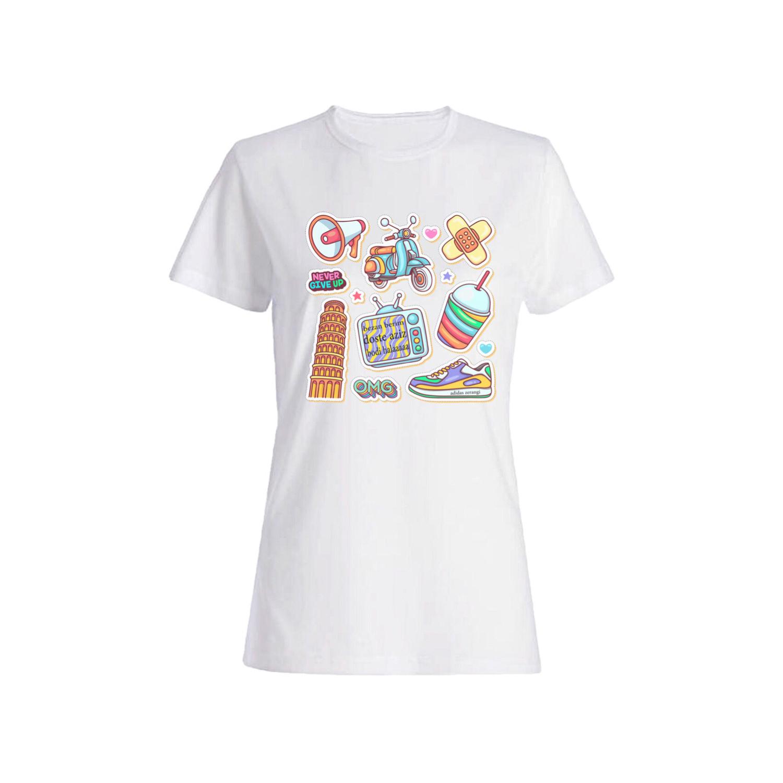 تی شرت نخی زنانه کد 03