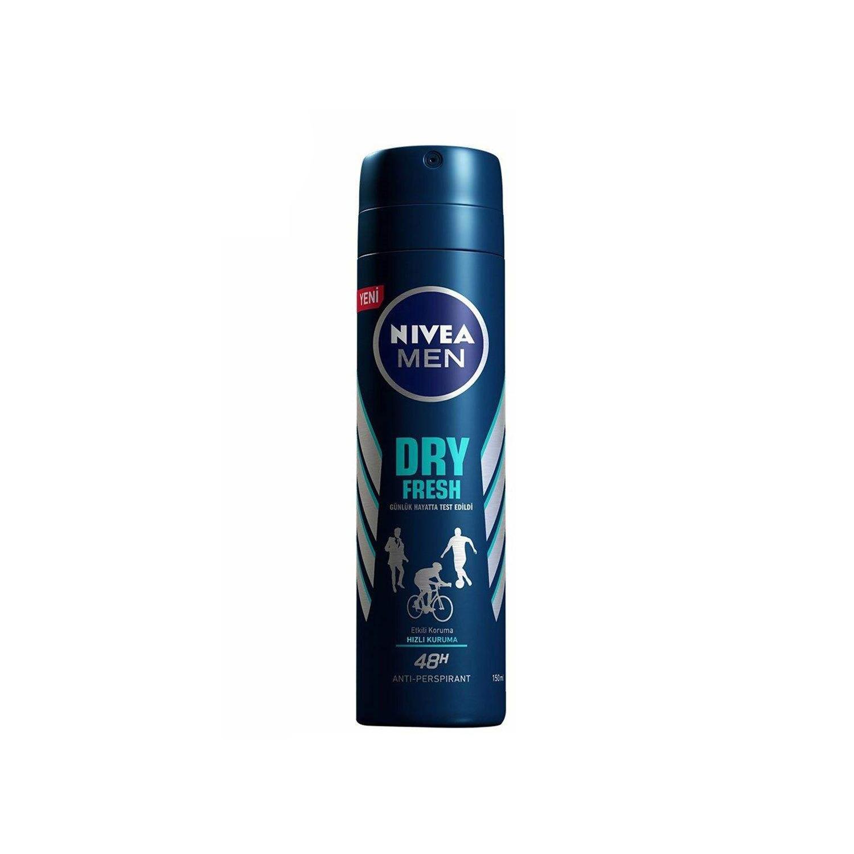 اسپری مردانه نیوآ مدل Dry Fresh حجم 150 میلی لیتر