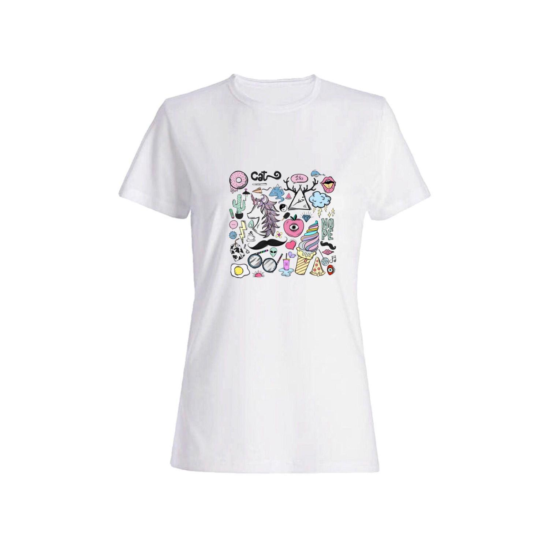 تی شرت نخی زنانه کد a108