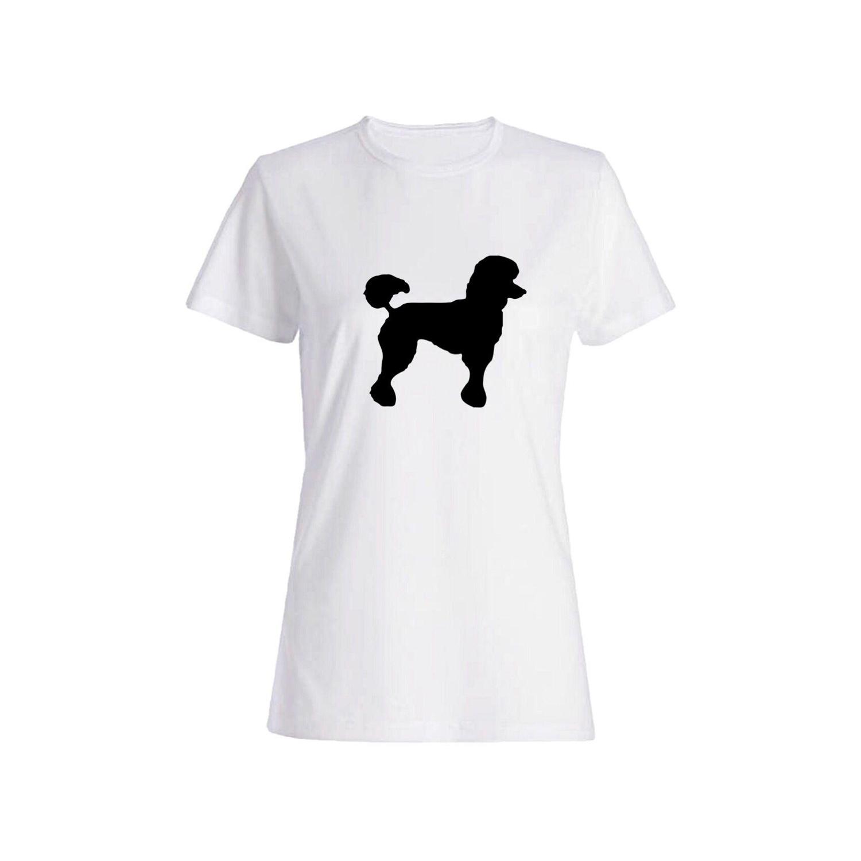 تی شرت نخی زنانه طرح سگ کد 5862
