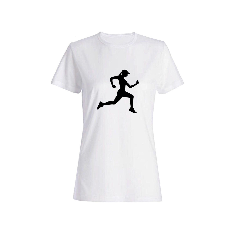 تی شرت نخی زنانه طرح ورزش کد 5854