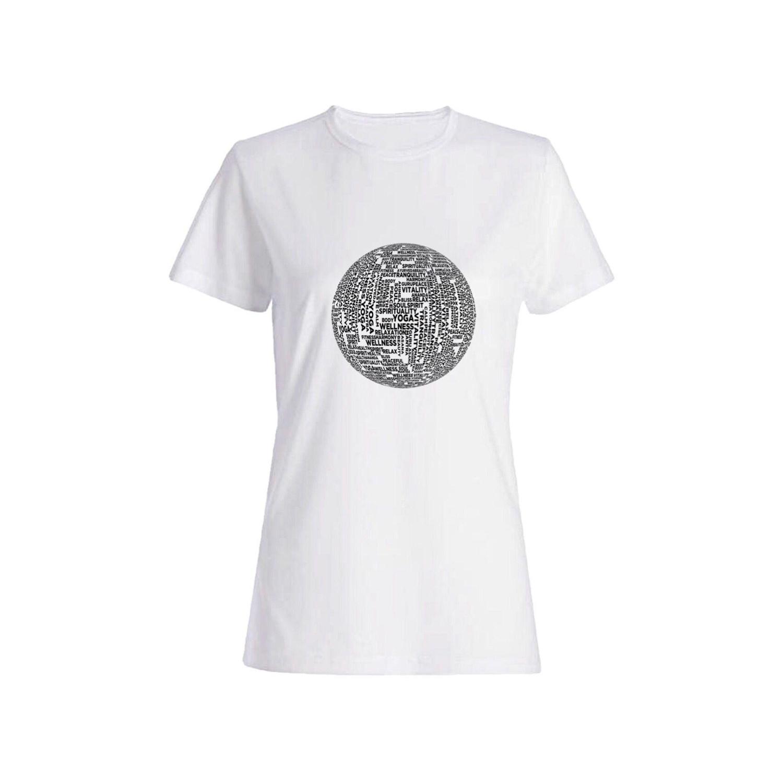 تی شرت نخی زنانه طرح Yoga کد 5664